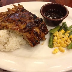 Photo taken at Bigby's Cafe & Restaurant by Kyle on 3/31/2012