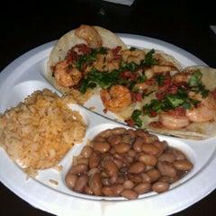 Photo taken at Dia De Los Tacos Cart by Jenn J. on 2/22/2012