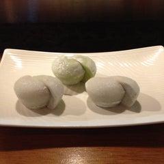 Photo taken at Marumi Sushi by Cara P. on 4/27/2012