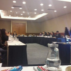 Photo taken at Hotel Mercure Santiago Centro by miguel r. on 10/11/2011