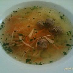Photo taken at Restaurace Chodovská tvrz by Jarda S. on 1/30/2012
