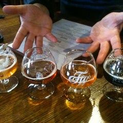 Photo taken at Firestone Walker Brewing Company by Amy J. on 3/25/2012