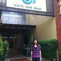 Photo taken at White Sand Krabi Resort by Jinny M. on 7/4/2012