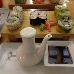 Photo taken at Sushihana by Francisco E. on 6/19/2012