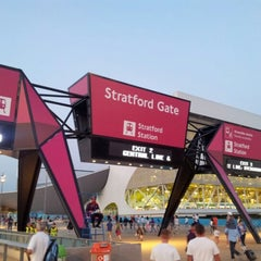 Photo taken at London 2012 Olympic Park by Mark C. on 8/10/2012