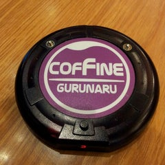Photo taken at COFFINE GURUNARU by mingoo k. on 4/6/2012