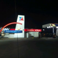Photo taken at TravelCenters of America by Kevin H. on 2/18/2012