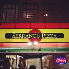 Photo taken at Serrano's Pizza by John G. on 1/29/2012