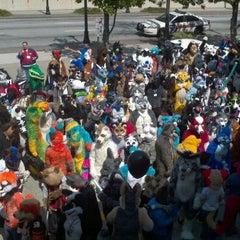 Photo taken at Furry Weekend Atlanta 2012 by Mystee S. on 3/19/2011