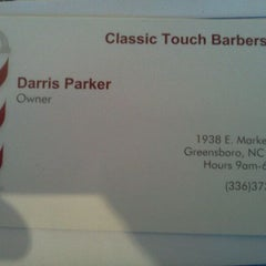Photo taken at Classic touch barbershop by Lady B. on 1/20/2012