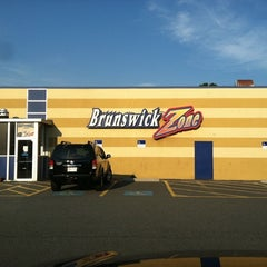 Photo taken at Brunswick Zone - Lowell by Jeff H. on 7/23/2011