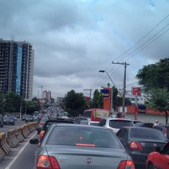 Photo taken at Avenida Djalma Batista by Marcia M. on 3/1/2012