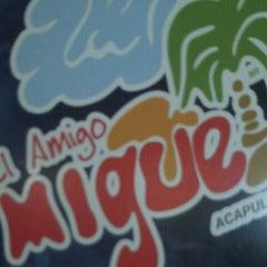 Photo taken at El Amigo Miguel by Susana C. on 8/7/2012