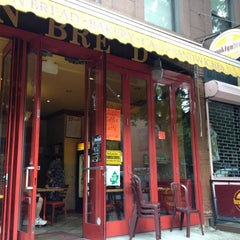 Photo taken at Brooklyn Bread Cafe by Mike O. on 6/18/2012