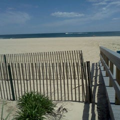 Photo taken at Belmar Beach by Keith S. on 5/11/2012