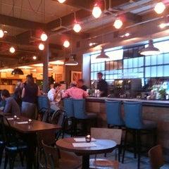 Photo taken at Sam's Brasserie & Bar by Rachel C. on 9/10/2011