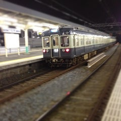 Photo taken at 千住大橋駅 (Senjuōhashi Sta.) (KS05) by Shingo M. on 10/30/2011
