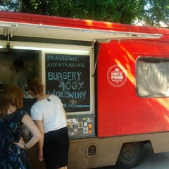 Photo taken at Soul Food Bus by Wojciech J. on 6/16/2012