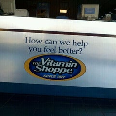 Photo taken at The Vitamin Shoppe by paula c. on 10/8/2011