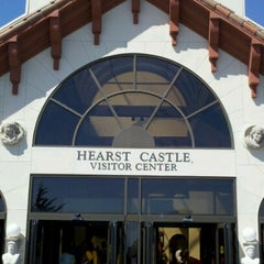 Photo taken at Hearst Castle Visitor Center by Frank M. on 8/9/2012