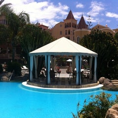 Photo taken at Gran Hotel Bahía del Duque Resort by Natalia G. on 5/27/2012