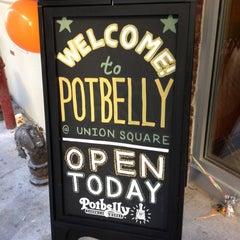Photo taken at Potbelly Sandwich Shop by FP C. on 10/28/2011