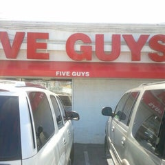 "Photo taken at Five Guys by ""Mr.G Shock"" on 8/16/2012"