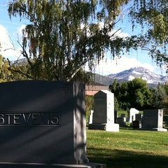 Photo taken at Mount Olivet Cemetery by Cherie C. on 10/10/2011