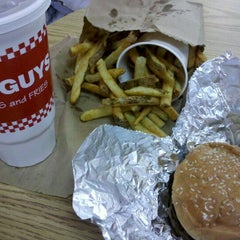 Photo taken at Five Guys by Scott C. on 3/5/2012