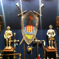 Photo taken at Medieval Times Dinner & Tournament by Charlie P. on 3/7/2012