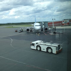 Photo taken at Flughafen Paderborn/Lippstadt (PAD) by Oxana D. on 6/22/2012