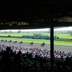 Photo taken at Keeneland by Andrew C. on 4/6/2012