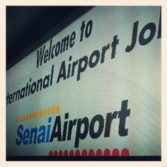 Photo taken at Senai International Airport (JHB) by Lim S. on 6/17/2012
