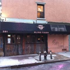 Photo taken at The Blind Tiger by Hops Diva on 7/19/2012