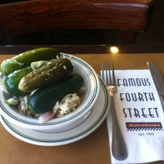 Photo taken at Famous 4th Street Delicatessen by Jenny B. on 2/20/2012