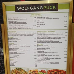 Photo taken at Wolfgang Puck Express by Annie L. on 4/25/2012