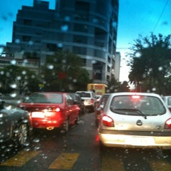 Photo taken at Av. Campos Elíseos by Anabel A. on 7/27/2012