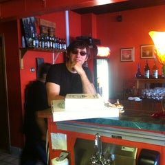 Photo taken at Pizza Post by Rebecca M. on 5/6/2012
