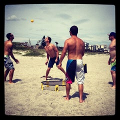 Photo taken at Cocoa Beach by Ryan P. on 3/31/2012