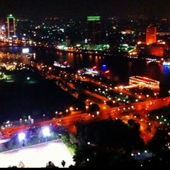 Photo taken at Cairo Tower | برج القاهرة by Oksa on 4/29/2012