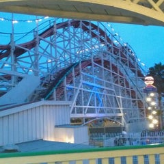 Photo taken at Giant Dipper Rollercoaster by Maria P. on 6/13/2012