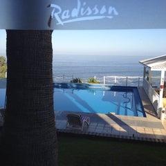 Photo taken at Radisson Hotel Iquique by Antonella F. on 4/22/2012