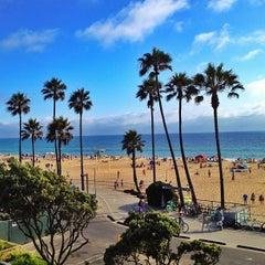 Photo taken at Manhattan Beach by Rich B. on 7/5/2012