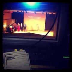 Photo taken at Bezanson Recital Hall by Sean B. on 2/15/2012