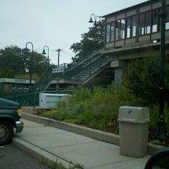 Photo taken at LIRR - Medford Station by Mikel K. on 7/19/2012