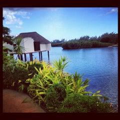 Photo taken at Spa at Four Seasons Resort Mauritius at Anahita by Alex Z. on 7/29/2012