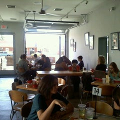 Photo taken at Green New American Vegetarian by Stacey R. on 3/28/2012