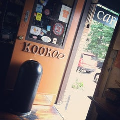 Photo taken at Kookoo Cafe by Sam S. on 9/6/2012