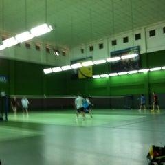 Photo taken at BJGCR Badminton Court by Kim Seng C. on 7/22/2012