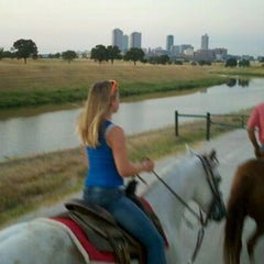 Photo taken at Stockyards Arena & Stables by Joel D. on 8/26/2011